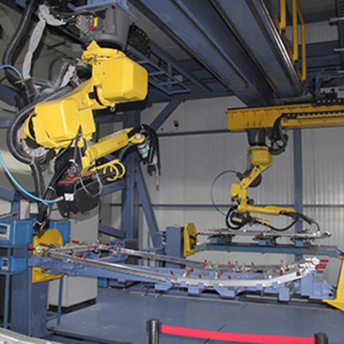 塞拉门机器人焊接