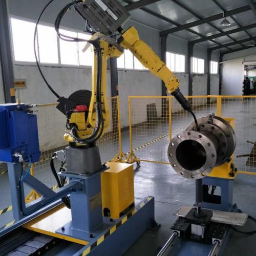 管法兰机器人焊接站